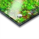 Slippery green rocks Acrylic print