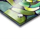 Art Deco_Green _Pattern_displate Acrylic print
