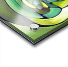 Art Deco_Green _Pattern_A Acrylic print