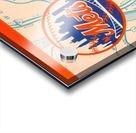 1967 new york mets vintage baseball scorecard poster wall art Acrylic print