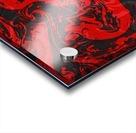 Black & Red Marble II Acrylic print
