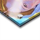 Beautiful blonde woman under a hard sun - Modern, Realism, Figurative, Portraiture, Acrylic  series Acrylic print