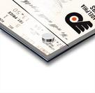 1975 stanley cup finals philadelphia flyers ticket stub hockey poster Acrylic print