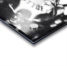 1985 Michael Jordan Black and White Poster Acrylic print