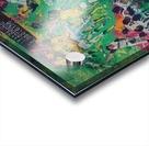 1975 world series program cover leroy neiman wall art Acrylic print