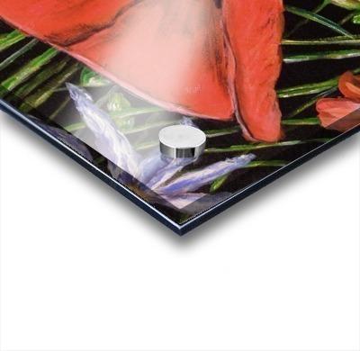 Folding Poppy Acrylic print