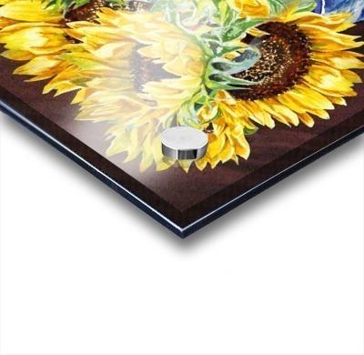A Bunch Of Sunflowers Acrylic print