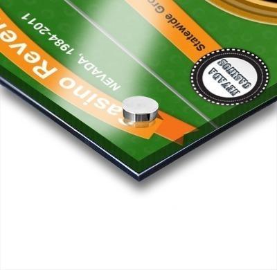 Earn Money From Online Casino Acrylic print