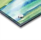 Ocean And Sea Beach Coastal Art Organic Watercolor Abstract Lines I Acrylic print