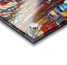 HOCKEY ON DEBULLION MONTREAL WINTER SCENE Acrylic print