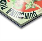 Quinquina Dubonnet - Aperitif dans tous les Cafes poster Acrylic print