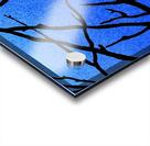 Ultramarine Forest Winter Blues II Acrylic print