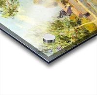 Houses on the banks of the Loing by Sisley Acrylic print