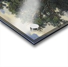 Painting of a big green tree Acrylic print