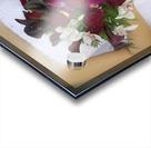 Bride's Bouquet And Wedding Dress Acrylic print