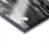 Monochrome Madness - Fewa Lake Acrylic print