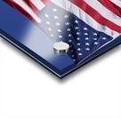 American Flag; Pahreah, Utah, United States of America Acrylic print