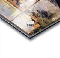 Claude_Monet_dans_son_bateau_atelier_1874 by Manet Acrylic print
