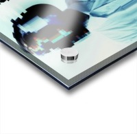 Glitch Serie Acrylic print