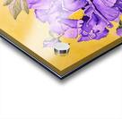 Purple Peony Acrylic print