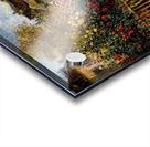 Monet painting in his garden in Argenteuil Acrylic print