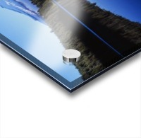 Trillium Lake With Reflection Of Mount Hood, Mount Hood National Forest Acrylic print