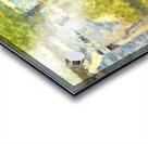 One Sunday on La Grande Jatte, draft by Seurat Acrylic print