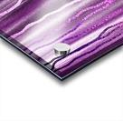 Organic Lines Purple Abstract Acrylic print