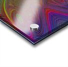 Digital Butterfly Rainbow 1 Acrylic print
