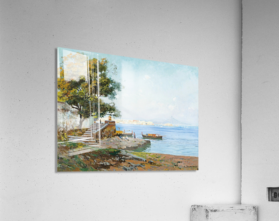 La baie de Naples  Impression acrylique