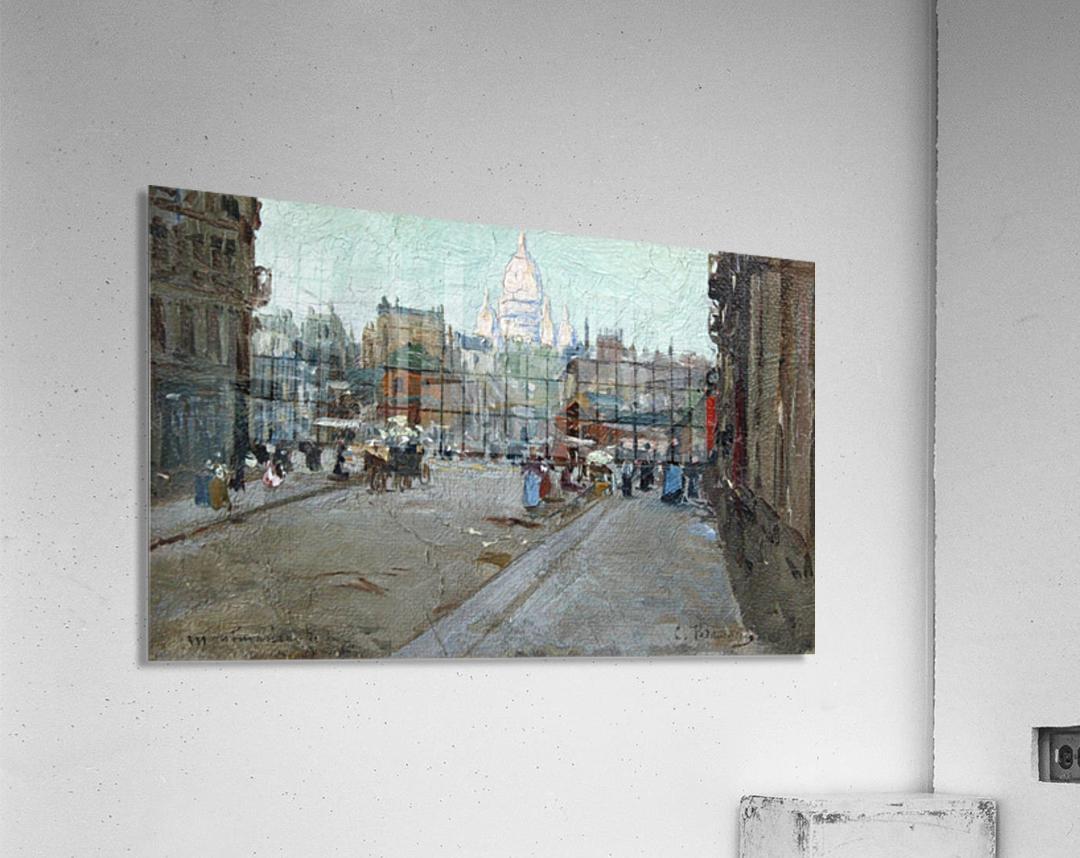 Montmartre  Impression acrylique