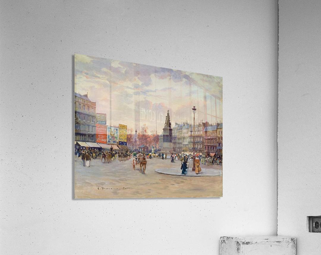 Place of Clichy  Impression acrylique