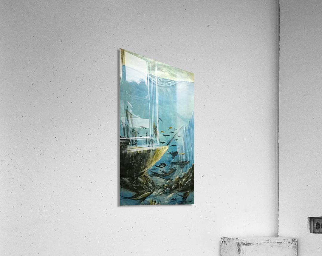 under sea  Impression acrylique