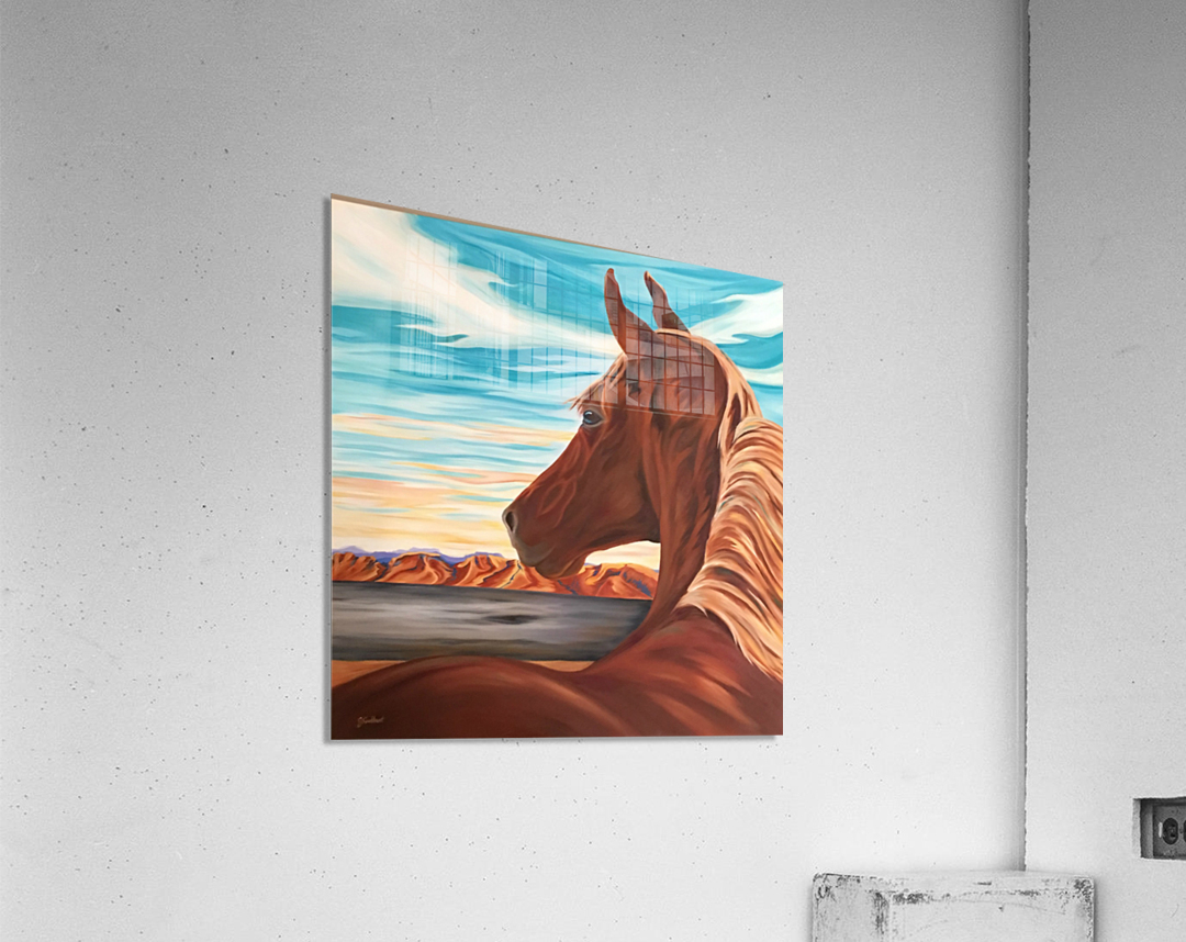 Unclaimed Freedom  Acrylic Print