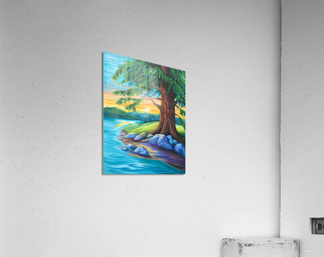 Guardian of the Bend  Acrylic Print