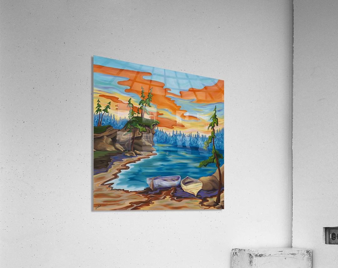 Evening Cove  Acrylic Print