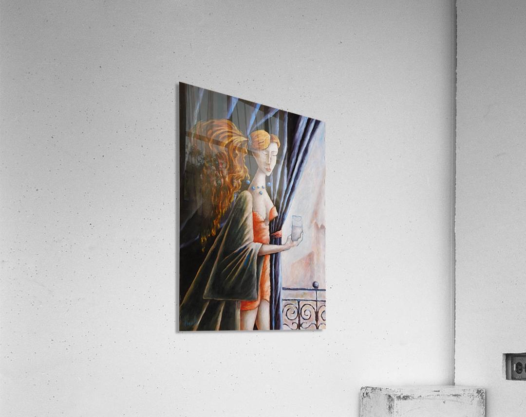 Glass of water  Acrylic Print