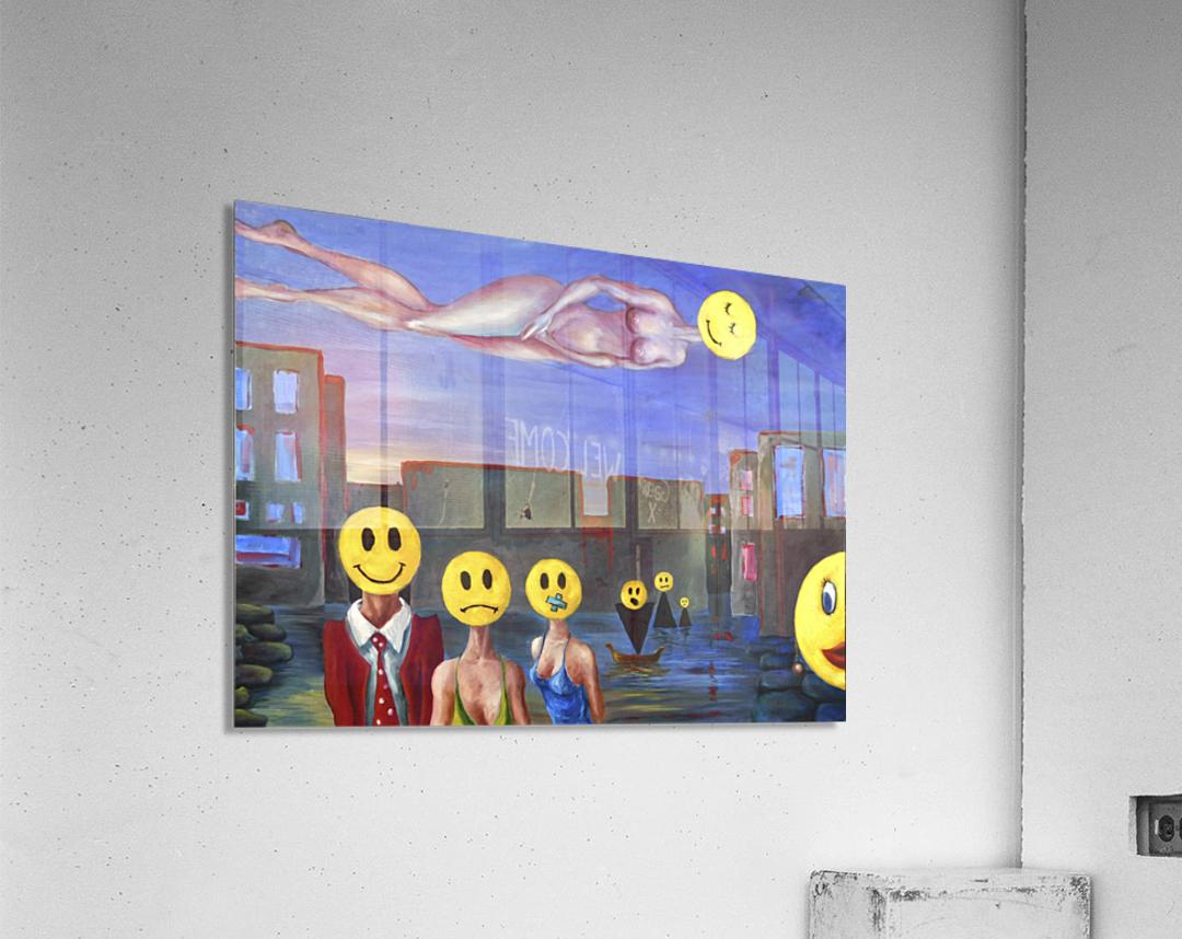 homo smilikus  Acrylic Print