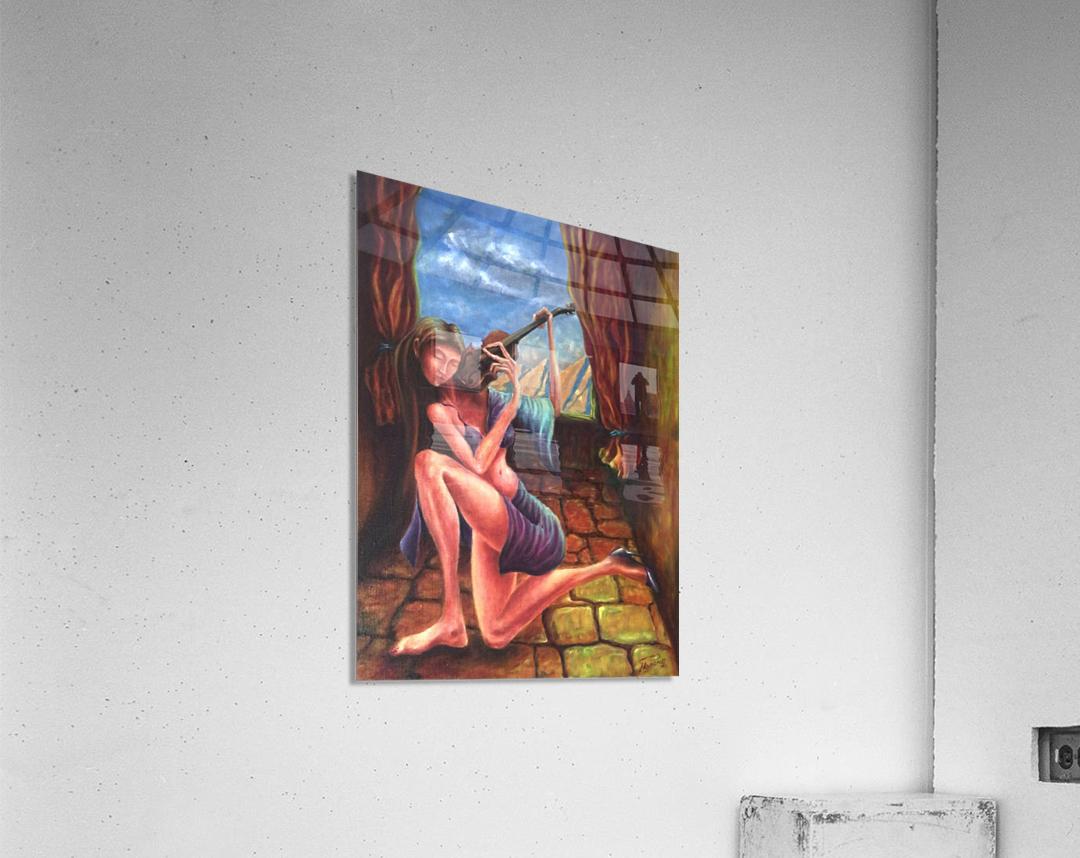 Pizzicato  Acrylic Print