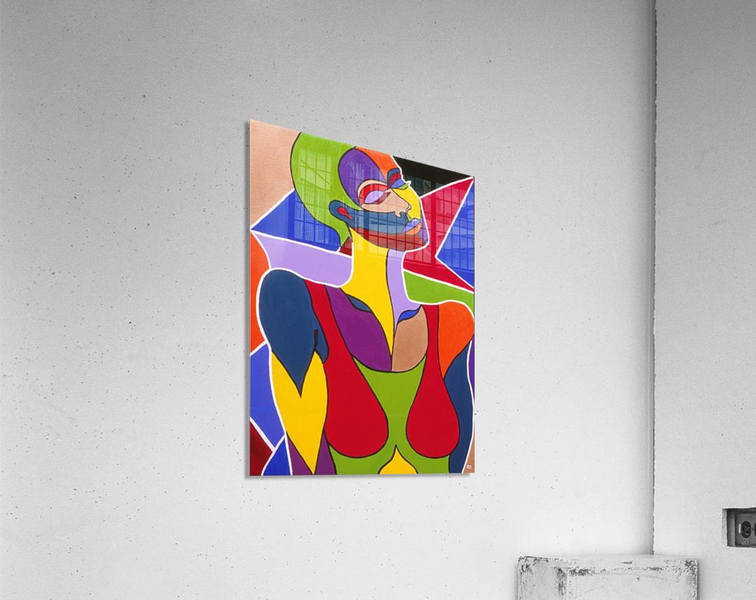 Cosmic Woman   Acrylic Print