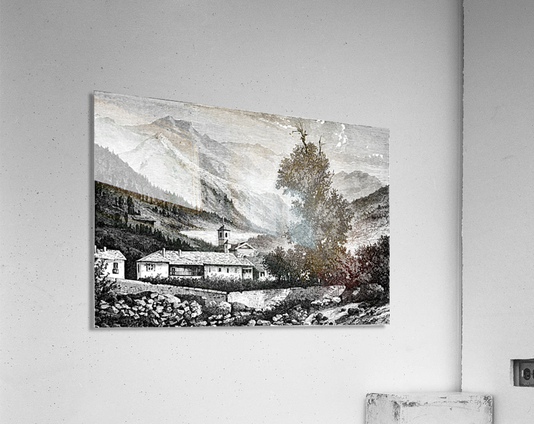 Bardonecchia View_OSG  Acrylic Print