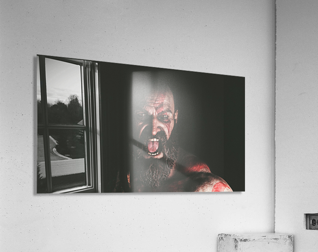 Hidden Beneath | God of War  Acrylic Print