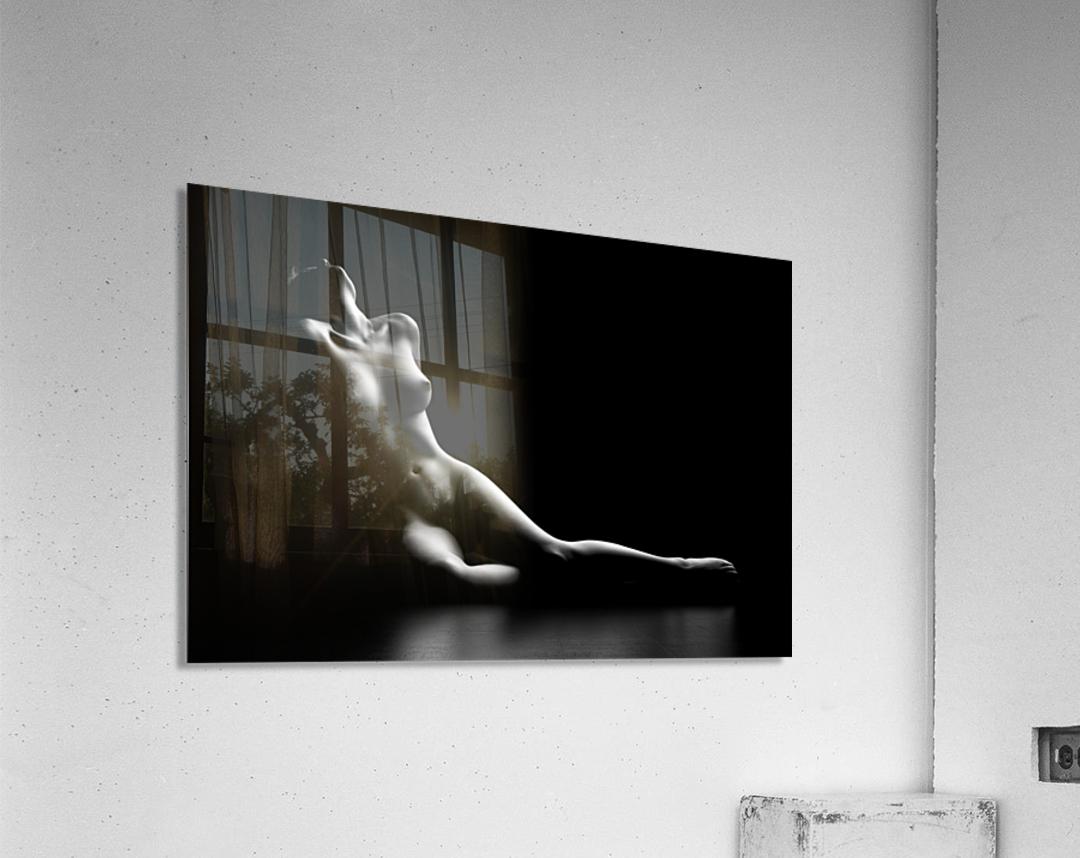 Nude woman bodyscape  Acrylic Print