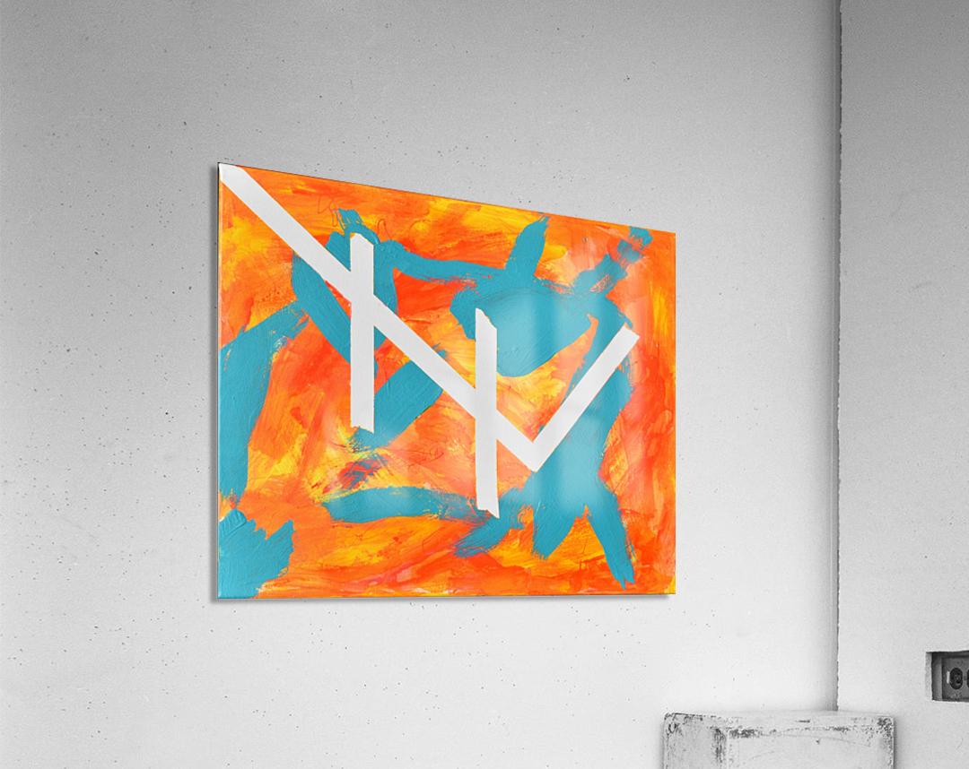 Fire and Water. Joe C  Acrylic Print