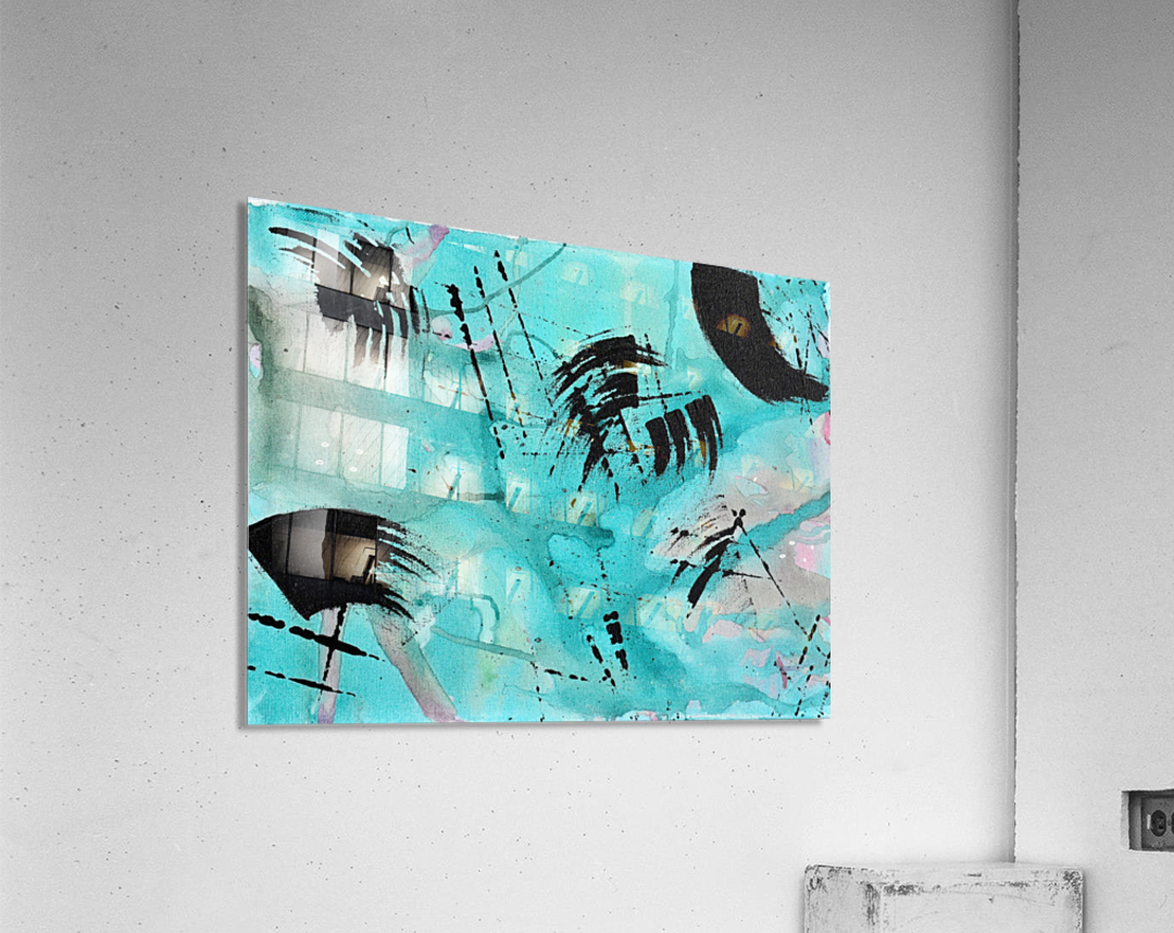 Abstract Watercolor. Geoffory E  Acrylic Print