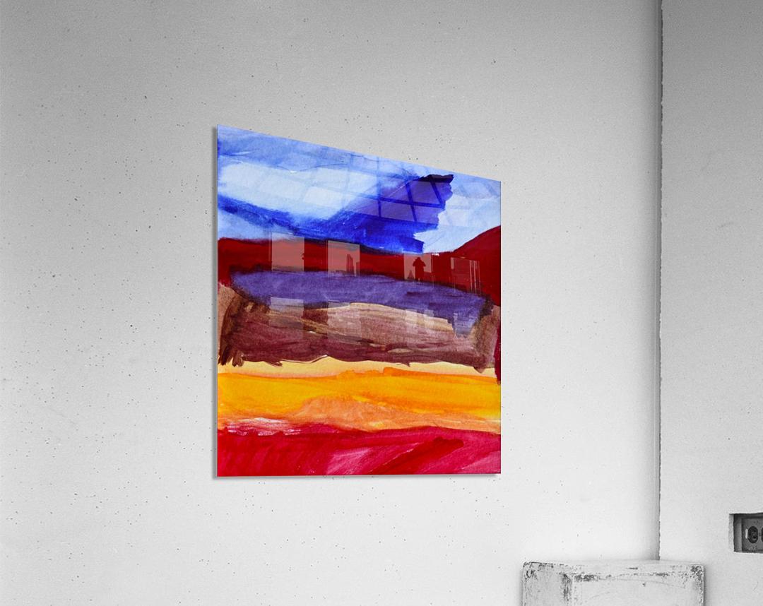 Fall Mountains. Anna B  Acrylic Print