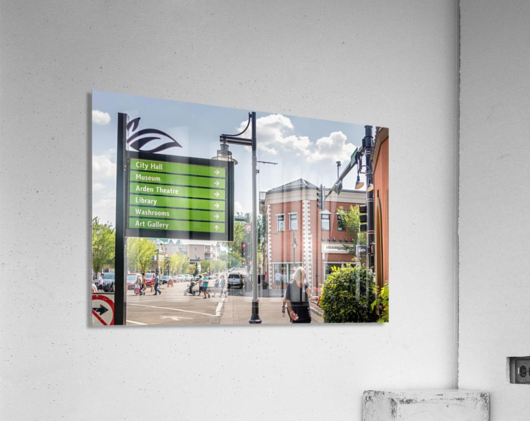 DowntownStAlbert_IMG_4484  Acrylic Print