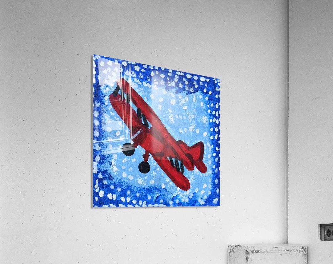Airplane. David K  Acrylic Print