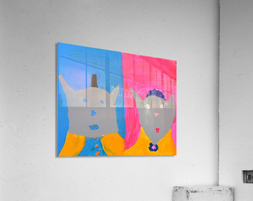 Bride and Groom. Heather S.  Acrylic Print