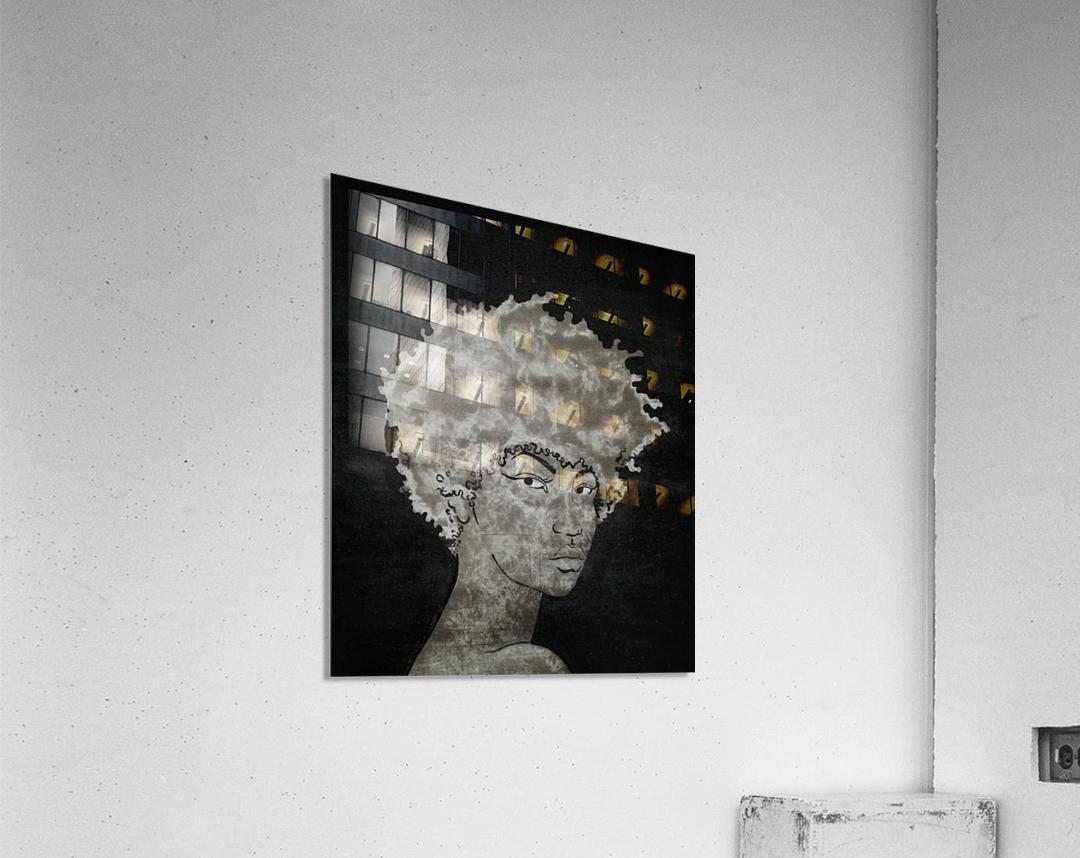 Steel Heart  Acrylic Print